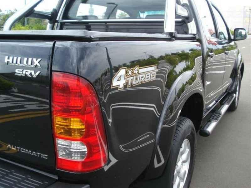10835 - Hilux SRV 4x4 2006 Blindado