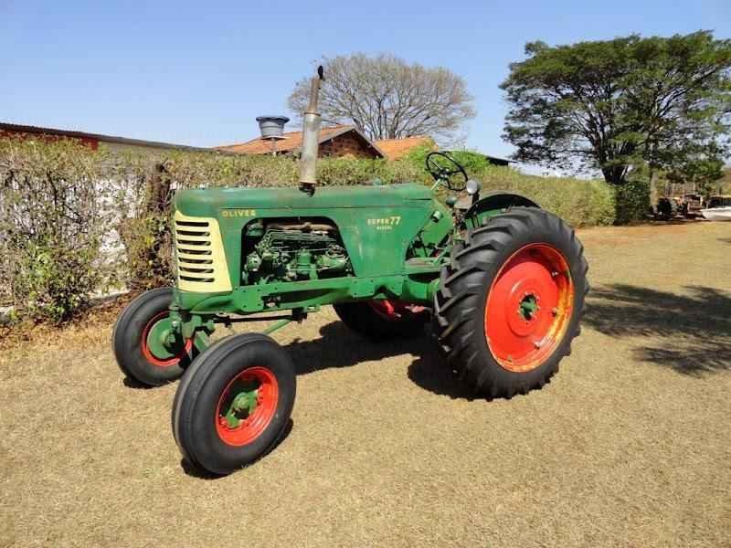 1140 - Trator Oliver 1957 Sem Uso