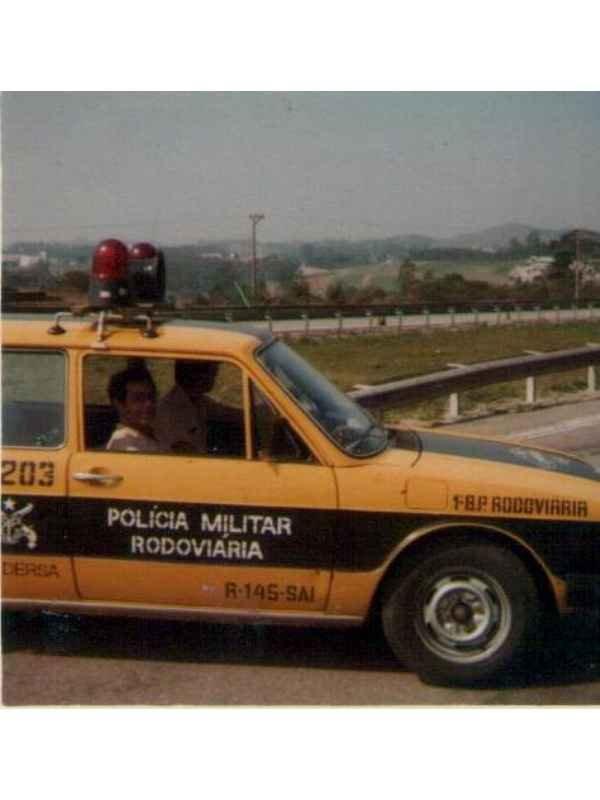 1155 - Policia Militar Rodoviaria anos 70/80
