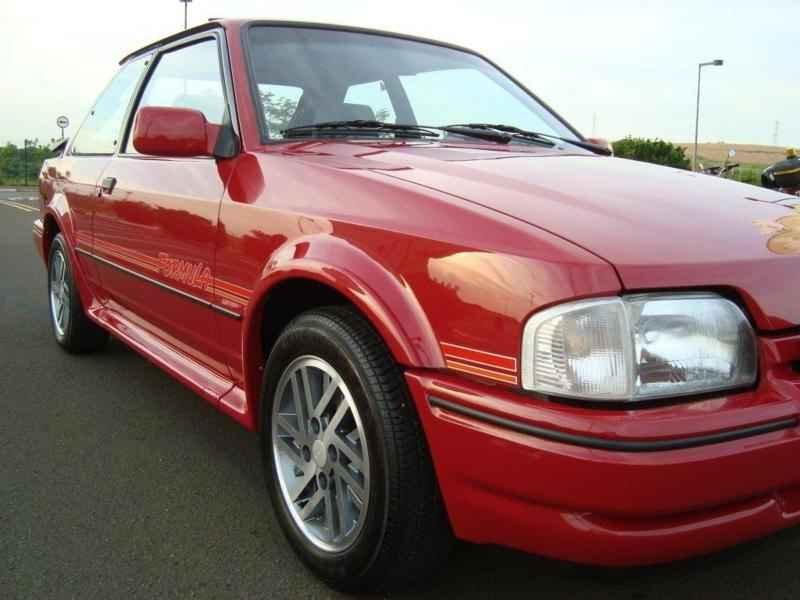 11578 - Escort XR3 1991 Formula 00116km