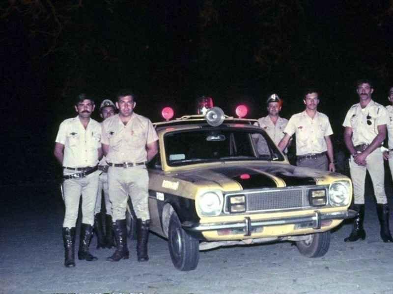 1162 - Policia Militar Rodoviaria anos 70/80