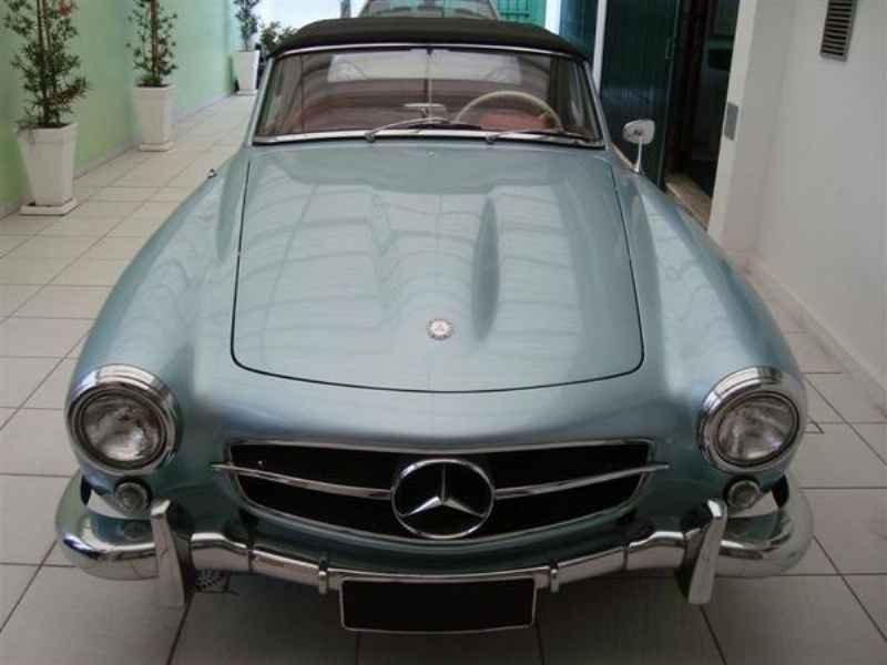 1166 1 - Garagem Mercedes SL