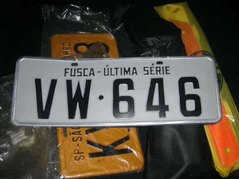 12066 - Fusca 1986 Ultima Serie 00040km