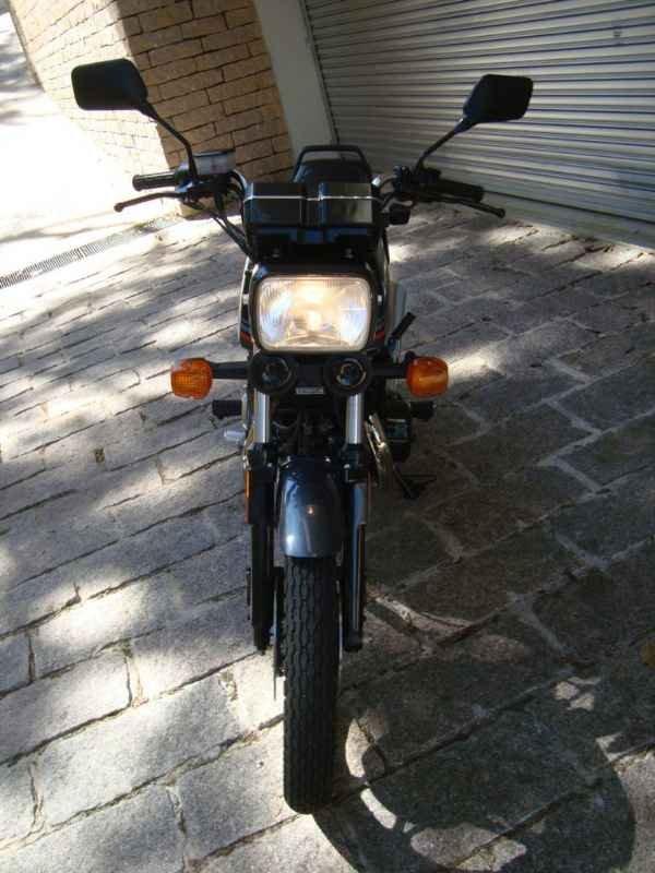 12431 - CB 450DX 1988  0km sem uso