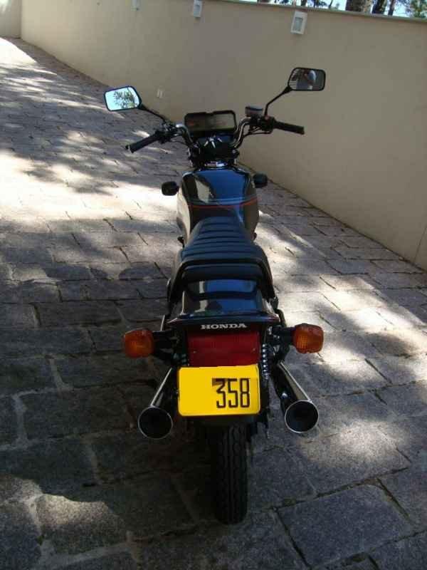 12432 - CB 450DX 1988  0km sem uso