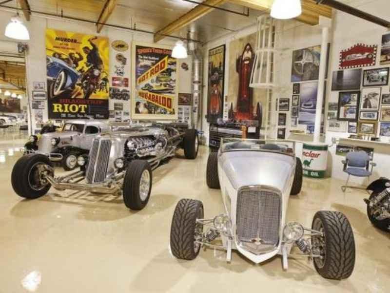 1249 - Garage Jay Leno`s