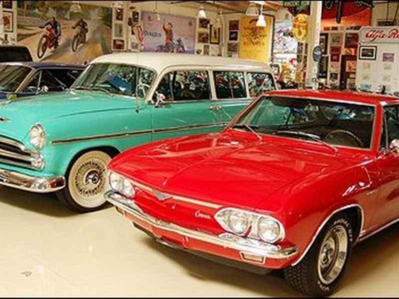 Garage Jay Leno`s