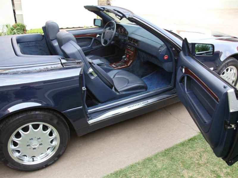 12600 - MB SL 500 V8 1996 23.000km