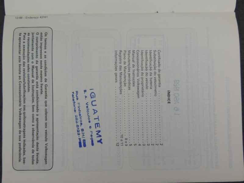 15314 - Gol GTI 1989 Sandro