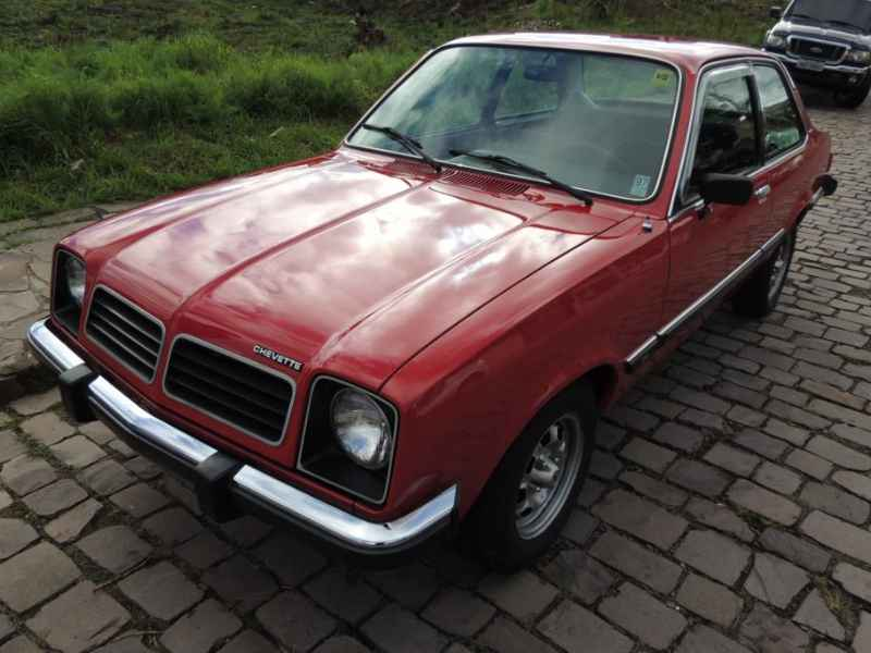 15680 - Chevette 1980 - 7.000km