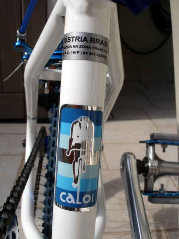 1631 - Caloi Extra Light 1983 Azul