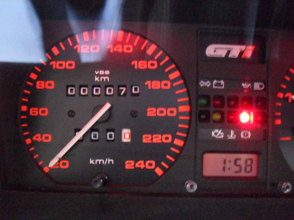 17814 - Gol GTi 1992 - 000070km