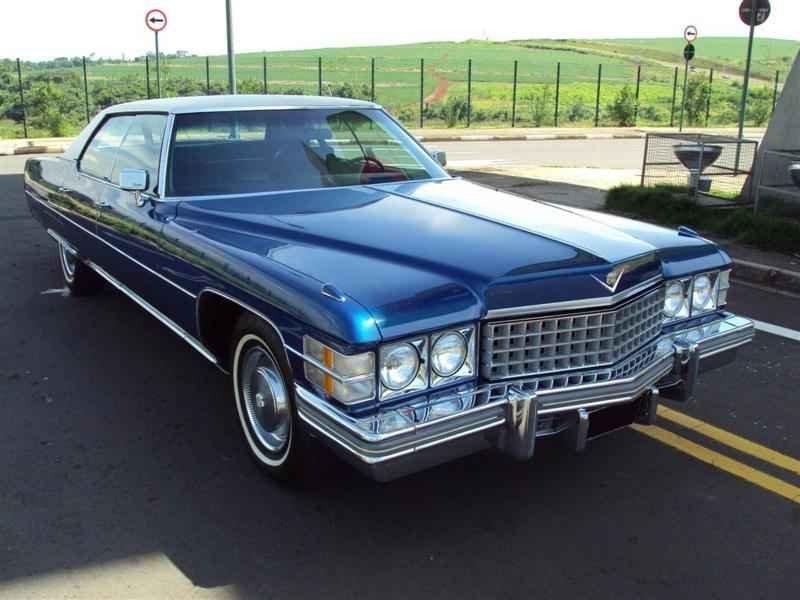 1989 1 - Cadillac de Ville 1974 V8 7.7L
