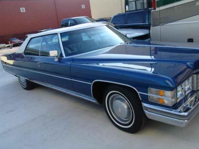 1990 1 - Cadillac de Ville 1974 V8 7.7L