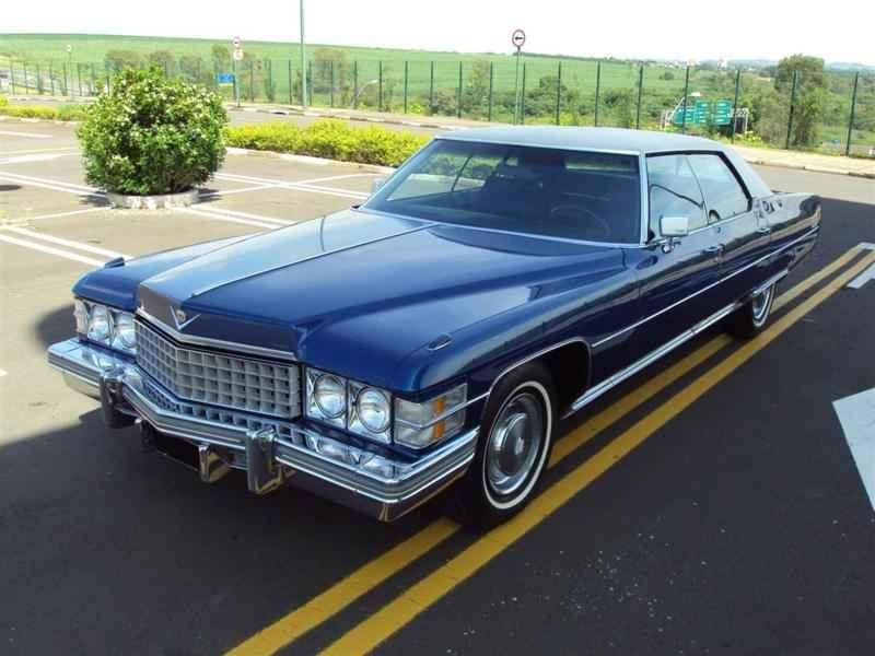 1998 1 - Cadillac de Ville 1974 V8 7.7L