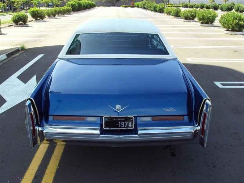 2010 1 - Cadillac de Ville 1974 V8 7.7L