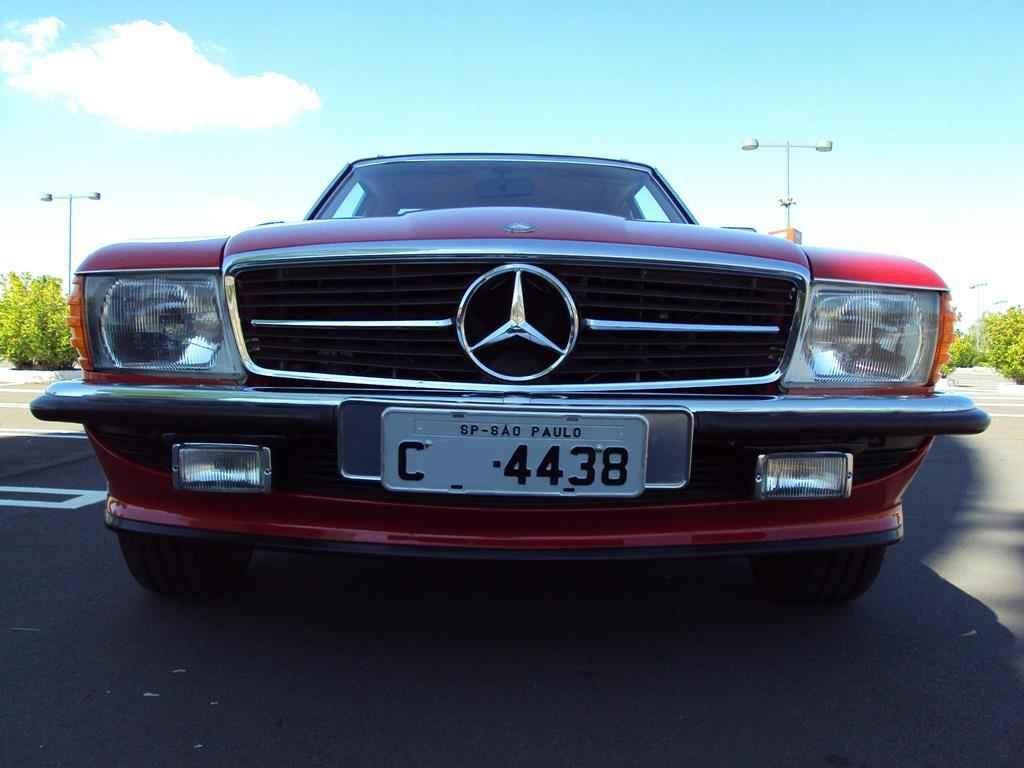 20286 - MB 300SL 1986 com 14.000km em 2010