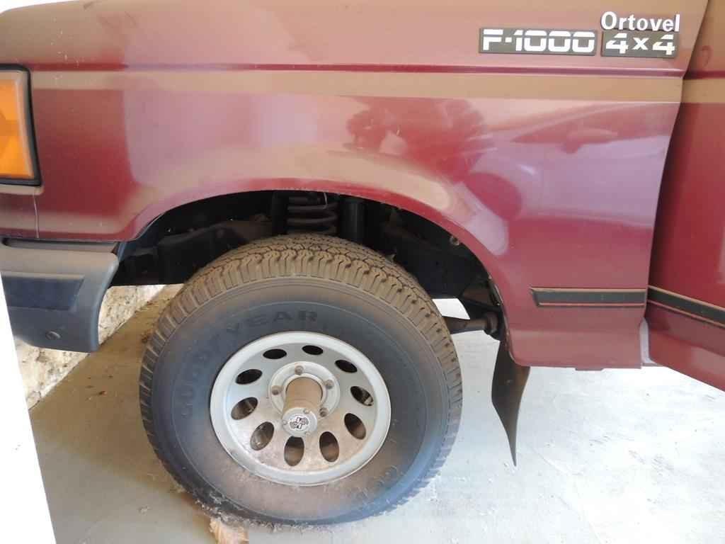 21016 - Ford F-1000 SS 4x4 1995 com 00800 km