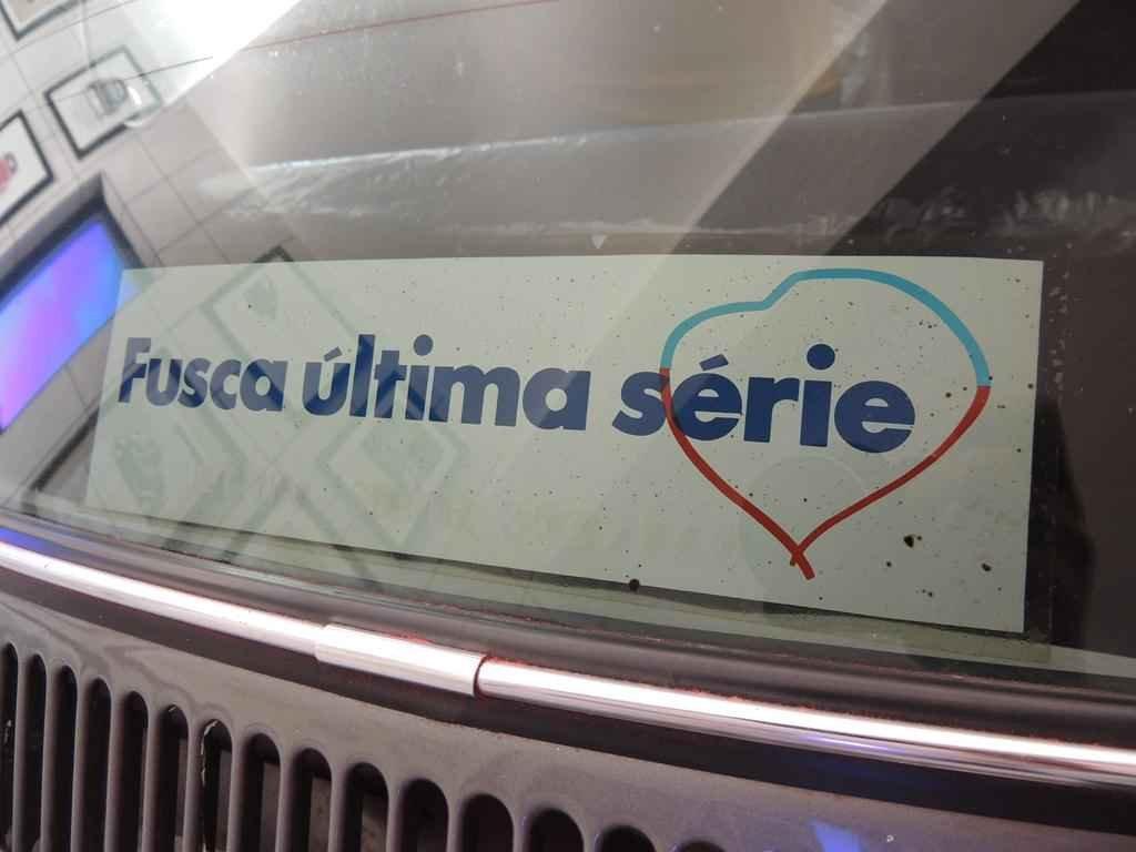21546 - Fusca Ultima Serie 1986 com 00008 km