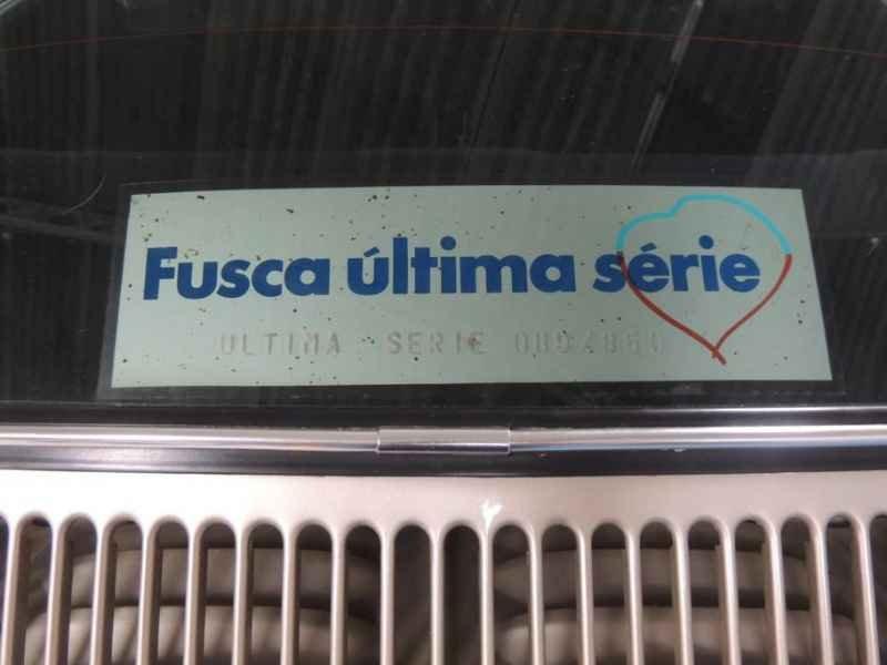 2197 - Meu Fusca 1986 com 00900km