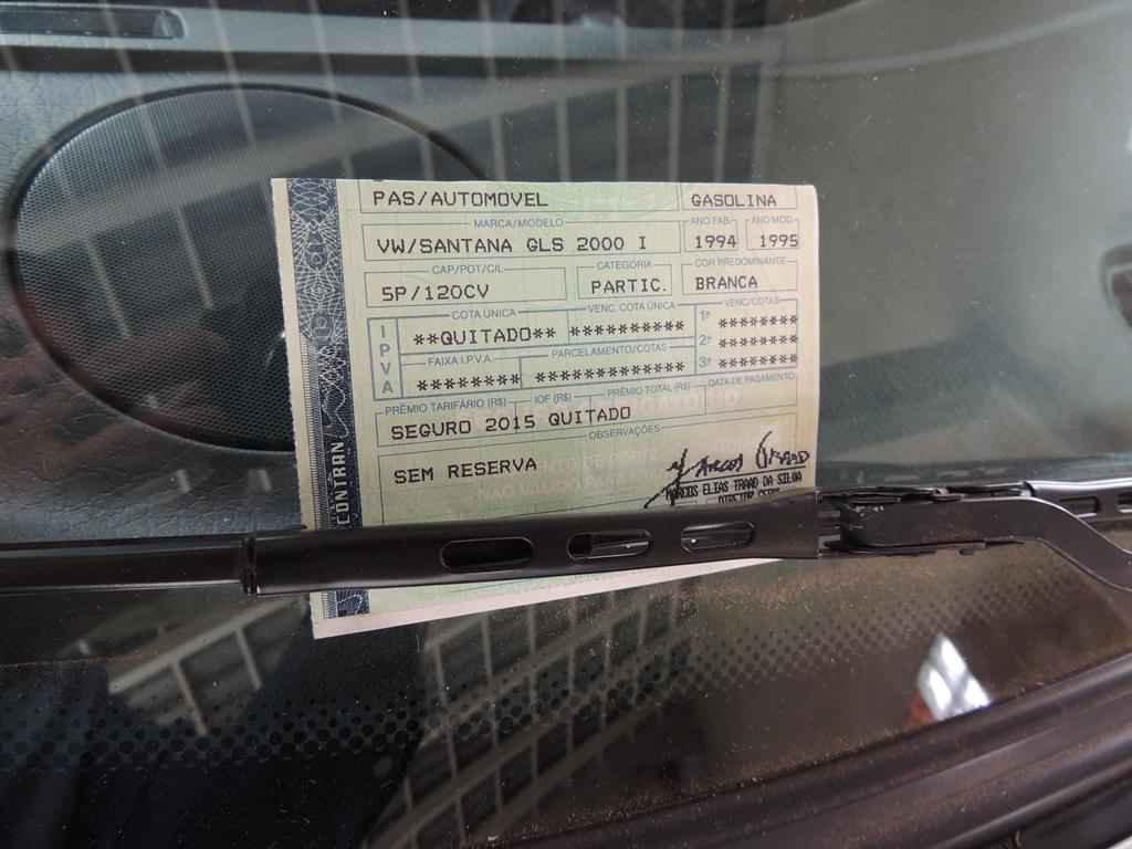 22198 - Santana GLSi 1994 1995 com 000492 km