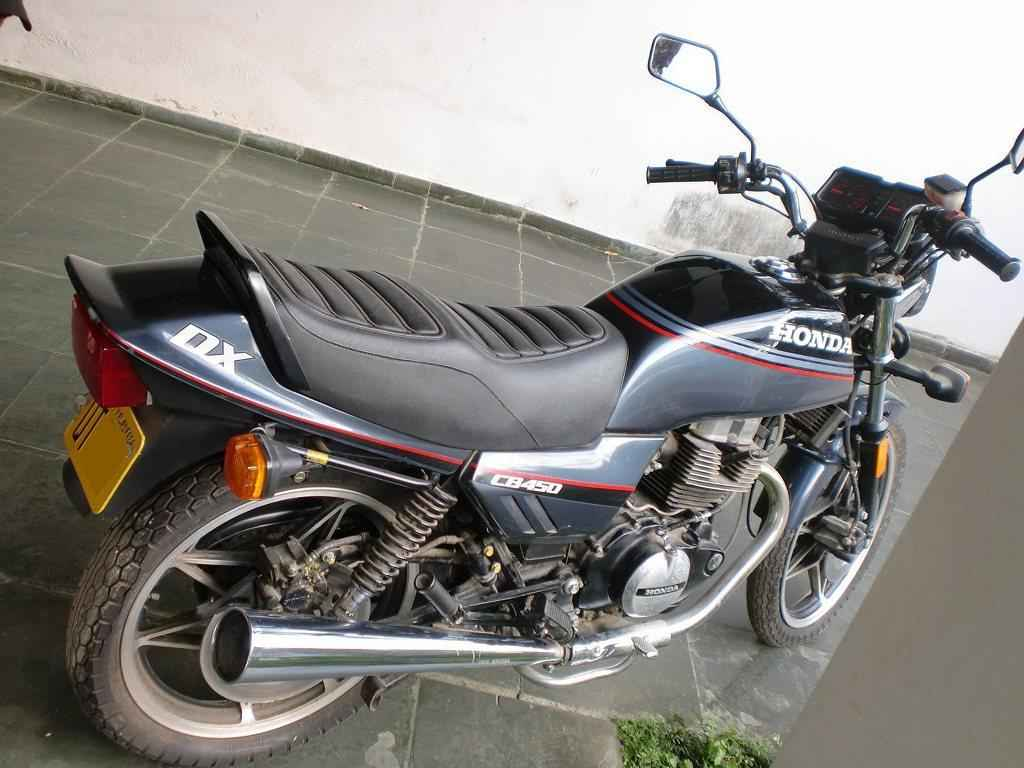 22444 - CB 450 DX 1988  000281km