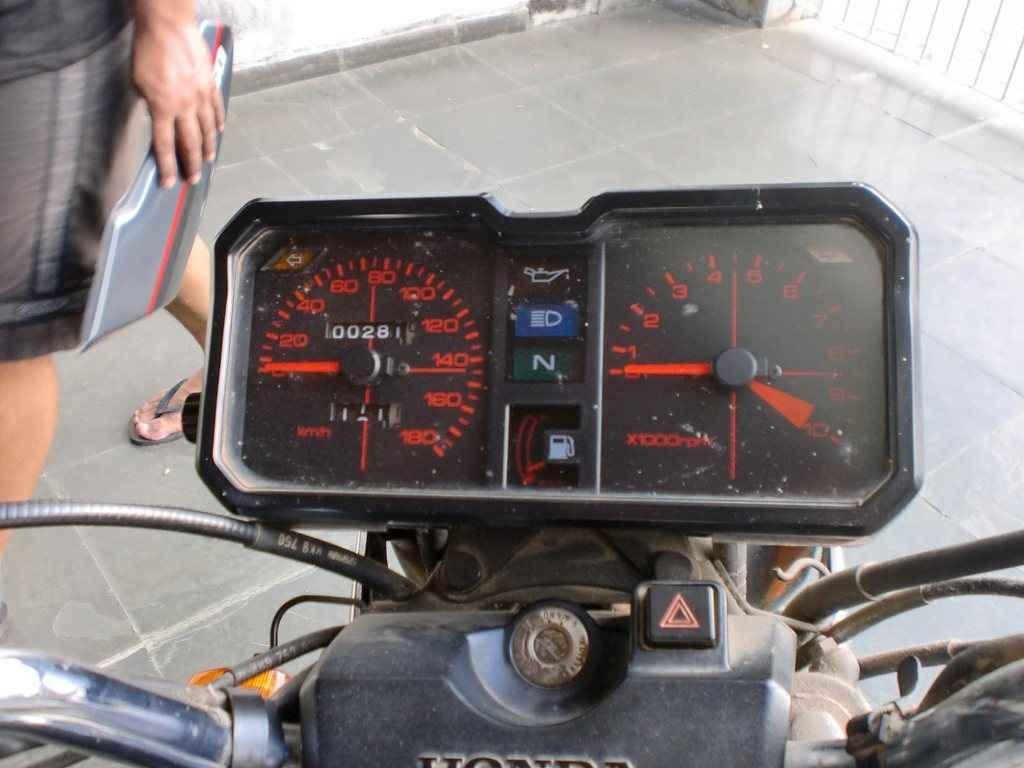 22447 - CB 450 DX 1988  000281km