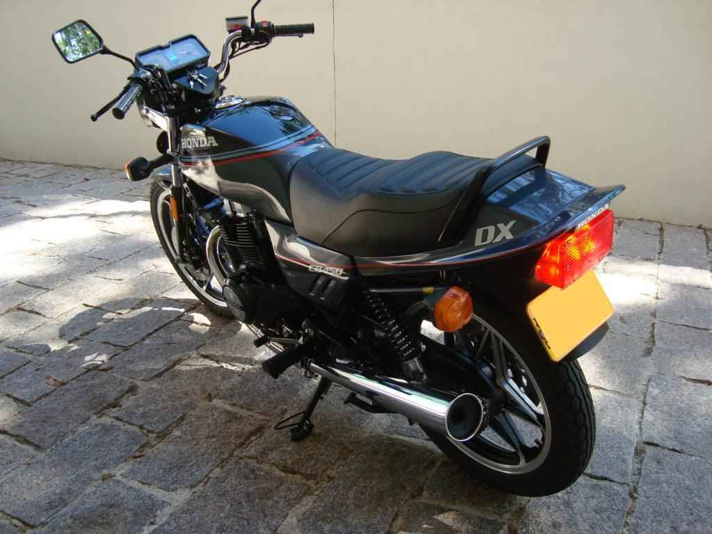 22453 - CB 450 DX 1988  000281km