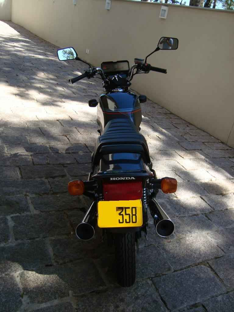 22456 - CB 450 DX 1988  000281km