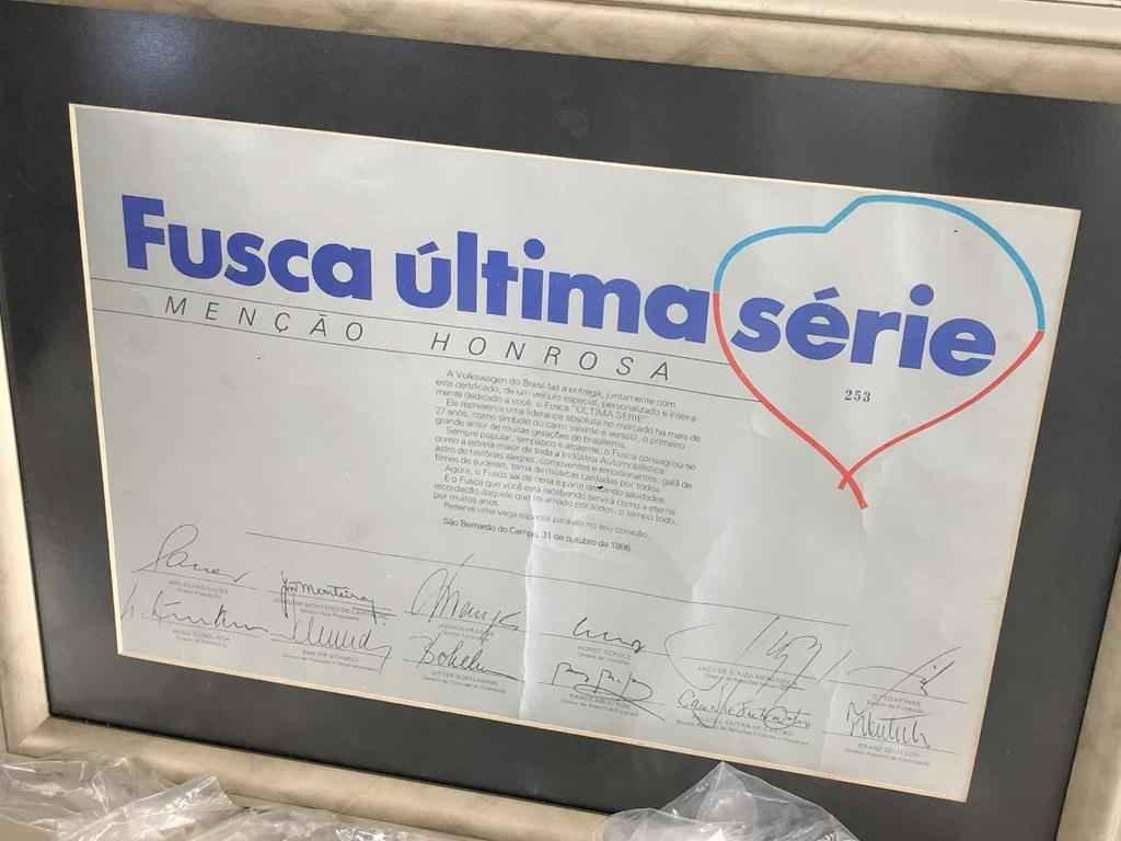 24448 - Fusca 1986 Ultima Serie 0km