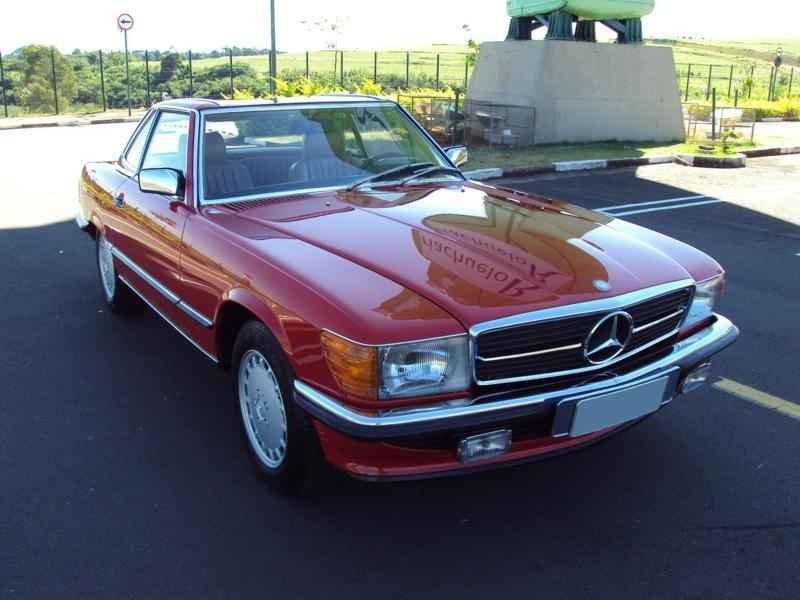 2562 2 - MB 300SL 1986 14.000km