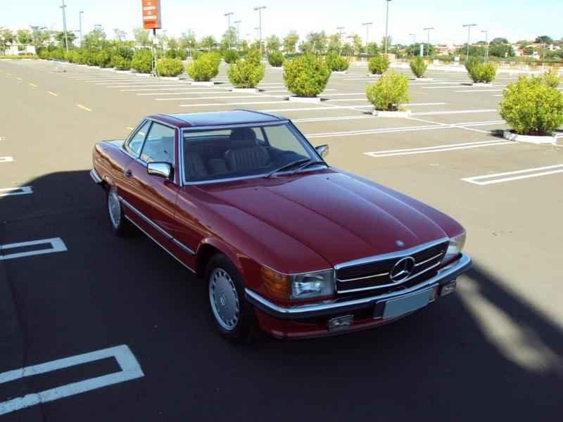 2566 2 - MB 300SL 1986 14.000km