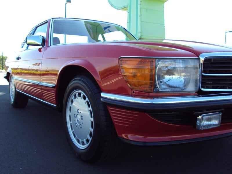 2580 2 - MB 300SL 1986 14.000km