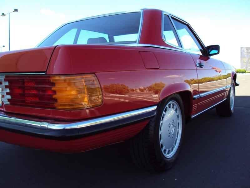 2589 2 - MB 300SL 1986 14.000km