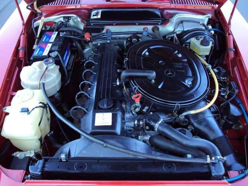 2599 2 - MB 300SL 1986 14.000km