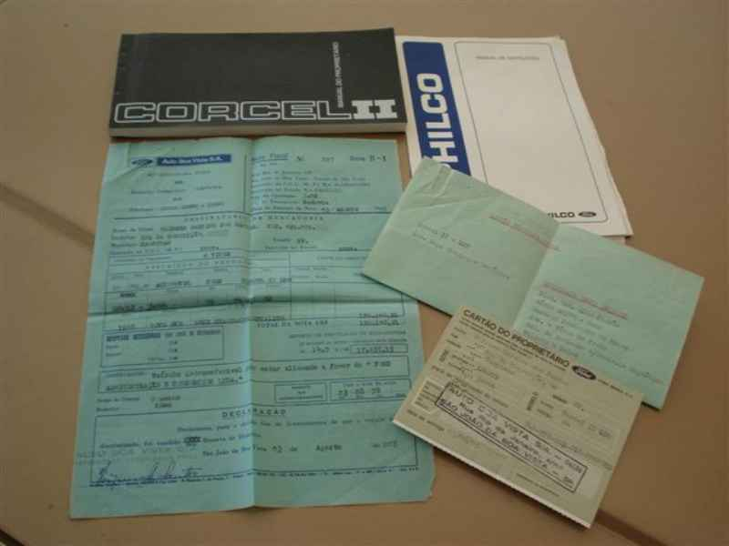 3308 - Corcel II 1978  11.000km