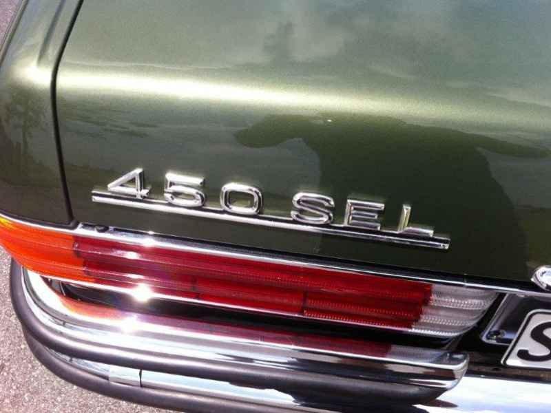 3615 - MB 450SEL V8 6.9L