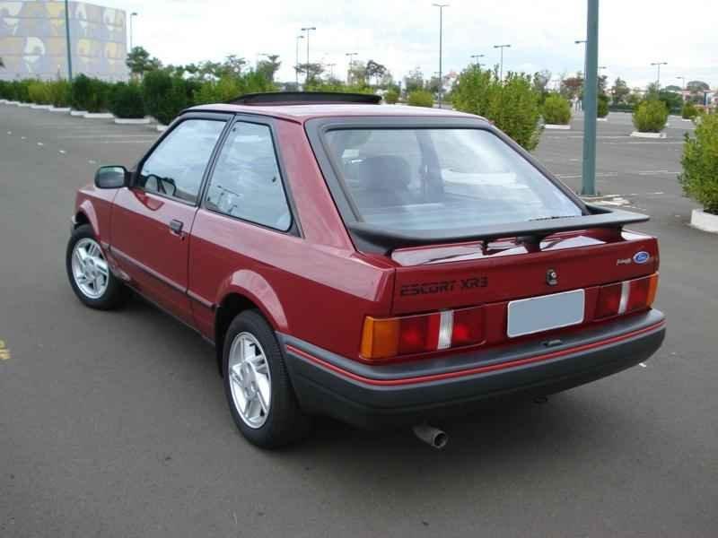 4162 - Escort XR3 1989 5.996km