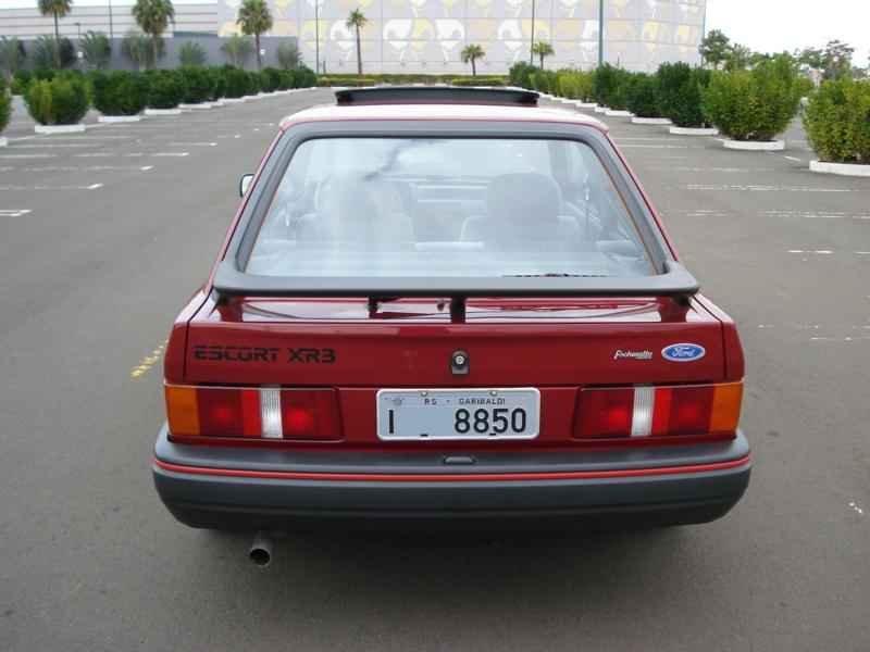 4166 - Escort XR3 1989 5.996km