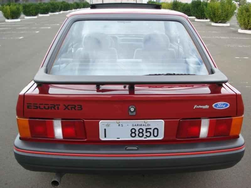 4167 - Escort XR3 1989 5.996km