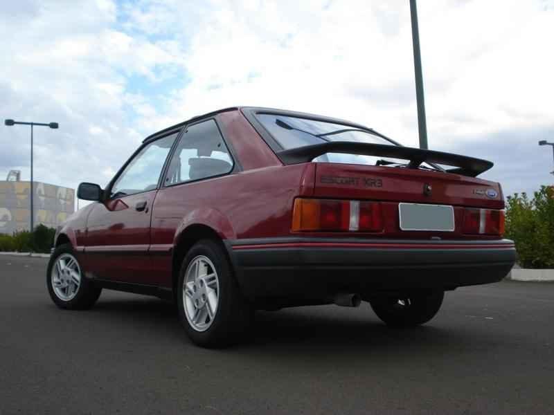 4190 - Escort XR3 1989 5.996km