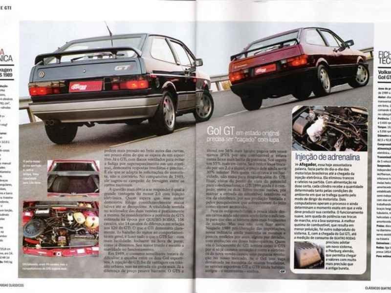 5095 - Gol GTi 1989   Reginaldo na foto Capa