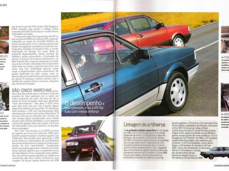 5096 - Gol GTi 1989 | Reginaldo na foto Capa