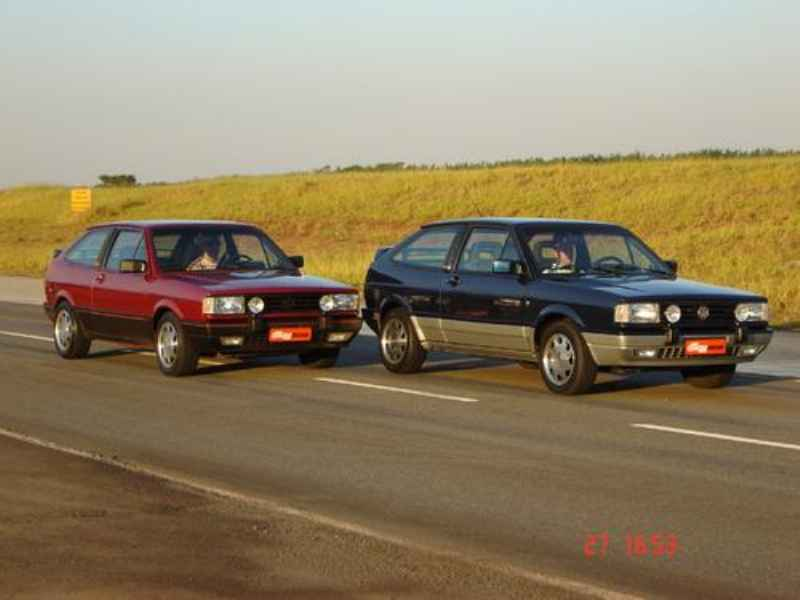5098 - Gol GTi 1989 | Reginaldo na foto Capa