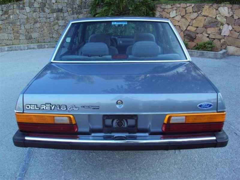 8851 - Del Rey Guia 1989  0km